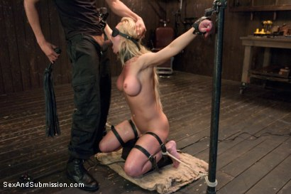 Photo number 8 from The Workout Bondage Slut shot for Sex And Submission on Kink.com. Featuring Cherie DeVille and Mickey Mod in hardcore BDSM & Fetish porn.
