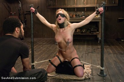 Photo number 7 from The Workout Bondage Slut shot for Sex And Submission on Kink.com. Featuring Cherie DeVille and Mickey Mod in hardcore BDSM & Fetish porn.