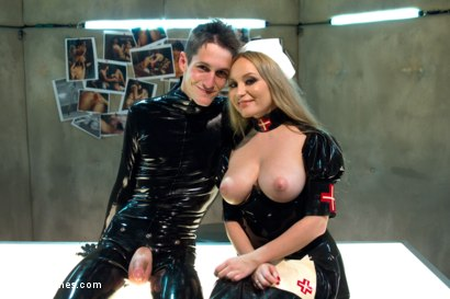 Photo number 5 from If You Don't Stop Masturbating You're Going To Die Alone! EXTREME femdom sounding fantasy! shot for Divine Bitches on Kink.com. Featuring Tony Orlando and Aiden Starr in hardcore BDSM & Fetish porn.