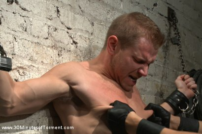 Photo number 6 from Alex Adams endures the cock, balls and ass torment shot for 30 Minutes of Torment on Kink.com. Featuring Alex Adams in hardcore BDSM & Fetish porn.