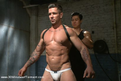 Photo number 2 from House dom Trenton Ducati finally gets what he deserves shot for 30 Minutes of Torment on Kink.com. Featuring Trenton Ducati in hardcore BDSM & Fetish porn.