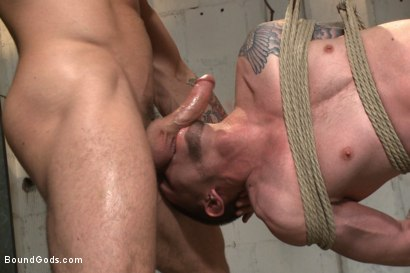 Photo number 10 from The Creepy Handyman vs His New Replacement  shot for Bound Gods on Kink.com. Featuring Trenton Ducati and Jay Rising in hardcore BDSM & Fetish porn.