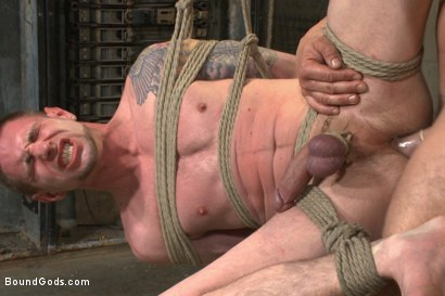 Photo number 12 from The Creepy Handyman vs His New Replacement  shot for Bound Gods on Kink.com. Featuring Trenton Ducati and Jay Rising in hardcore BDSM & Fetish porn.