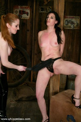 Photo number 4 from Ariel X and Natali Demore shot for Whipped Ass on Kink.com. Featuring Natali Demore and Ariel X in hardcore BDSM & Fetish porn.