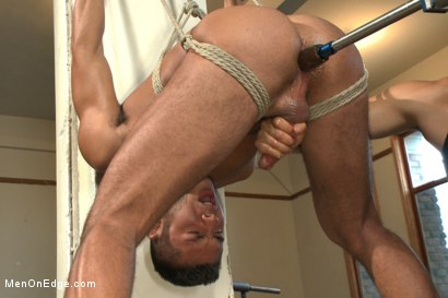 Photo number 15 from Kick ass bondage positiion - Shockspot fucked - Relentlessly edged shot for Men On Edge on Kink.com. Featuring Seth Santoro in hardcore BDSM & Fetish porn.