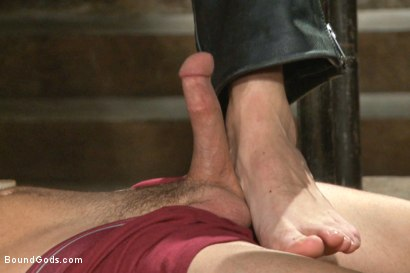 Photo number 1 from New muscle boy for Mr Wilde shot for Bound Gods on Kink.com. Featuring Christian Wilde and Colt Rivers in hardcore BDSM & Fetish porn.