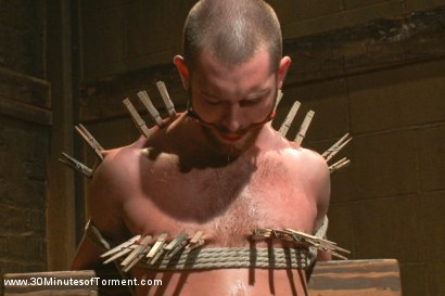 Photo number 5 from Hot southern boy relentlessly fucked and beaten shot for 30 Minutes of Torment on Kink.com. Featuring Jordan Foster in hardcore BDSM & Fetish porn.