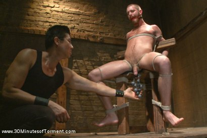 Photo number 3 from Hot southern boy relentlessly fucked and beaten shot for 30 Minutes of Torment on Kink.com. Featuring Jordan Foster in hardcore BDSM & Fetish porn.