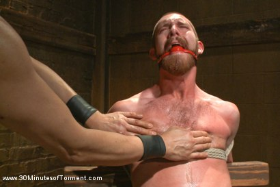 Photo number 8 from Hot southern boy relentlessly fucked and beaten shot for 30 Minutes of Torment on Kink.com. Featuring Jordan Foster in hardcore BDSM & Fetish porn.