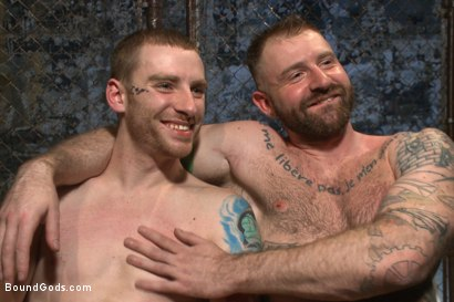 Photo number 15 from Slave #316 welcomes Aleks Buldocek to the house shot for Bound Gods on Kink.com. Featuring Aleks Buldocek and Sebastian Keys in hardcore BDSM & Fetish porn.