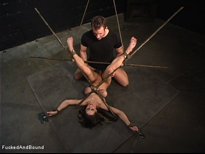 Photo number 5 from Tease And Denial shot for  on Kink.com. Featuring TJ Cummings and Rachel Roxxx in hardcore BDSM & Fetish porn.