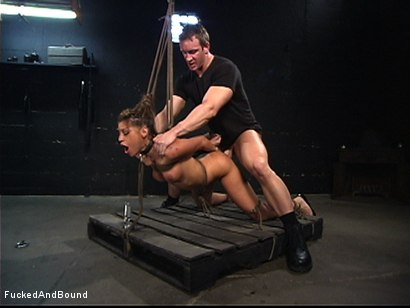 Photo number 13 from The Seduction of Britney Stevens shot for  on Kink.com. Featuring TJ Cummings and Britney Stevens in hardcore BDSM & Fetish porn.