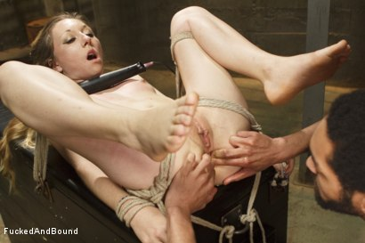 Photo number 12 from Tiny Whore Takes Huge Cock shot for  on Kink.com. Featuring Emma Haize and Mickey Mod in hardcore BDSM & Fetish porn.