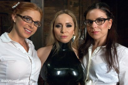 Photo number 15 from Anal College Girls shot for Everything Butt on Kink.com. Featuring Aiden Starr, Penny Pax and Juliette March in hardcore BDSM & Fetish porn.