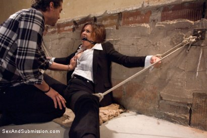 Photo number 3 from Special Agent Bondage Whore shot for Sex And Submission on Kink.com. Featuring Xander Corvus and Krissy Lynn in hardcore BDSM & Fetish porn.