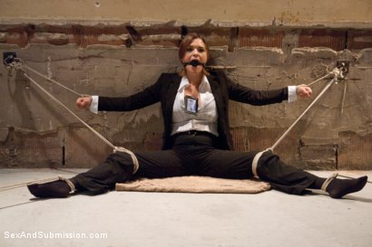 Photo number 2 from Special Agent Bondage Whore shot for Sex And Submission on Kink.com. Featuring Xander Corvus and Krissy Lynn in hardcore BDSM & Fetish porn.