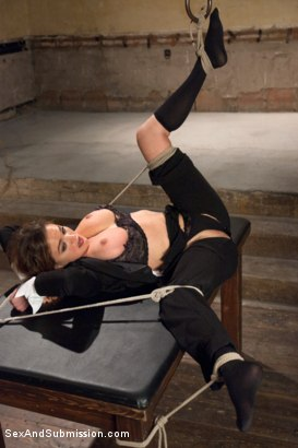 Photo number 7 from Special Agent Bondage Whore shot for Sex And Submission on Kink.com. Featuring Xander Corvus and Krissy Lynn in hardcore BDSM & Fetish porn.