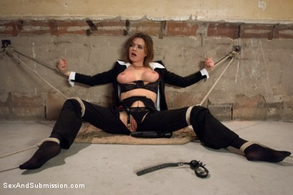 Photo number 6 from Special Agent Bondage Whore shot for Sex And Submission on Kink.com. Featuring Xander Corvus and Krissy Lynn in hardcore BDSM & Fetish porn.