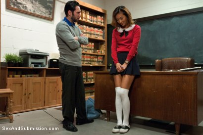 Photo number 1 from 19 Year Old Punished Foreign Exchange Slave shot for Sex And Submission on Kink.com. Featuring Alina Li and Tommy Pistol in hardcore BDSM & Fetish porn.