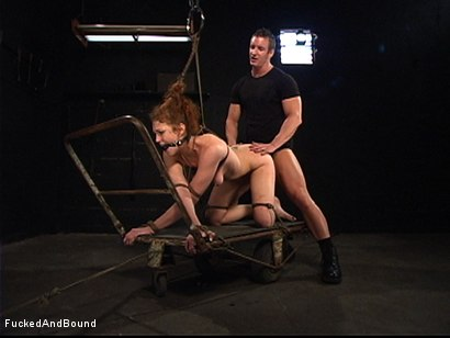 Photo number 13 from Sabrina's First Time shot for Brutal Sessions on Kink.com. Featuring Sabrina Fox and TJ Cummings in hardcore BDSM & Fetish porn.