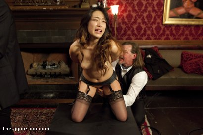 Photo number 2 from The Newbie Anal Slut and the Porn Star Fight For Dick shot for The Upper Floor on Kink.com. Featuring Bill Bailey, Meiko and Evi Fox in hardcore BDSM & Fetish porn.
