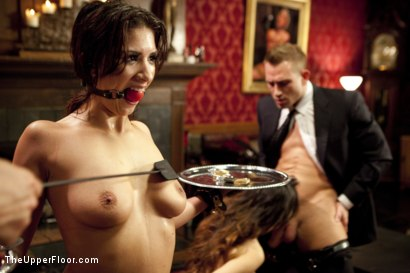 Photo number 5 from The Newbie Anal Slut and the Porn Star Fight For Dick shot for The Upper Floor on Kink.com. Featuring Bill Bailey, Meiko and Evi Fox in hardcore BDSM & Fetish porn.