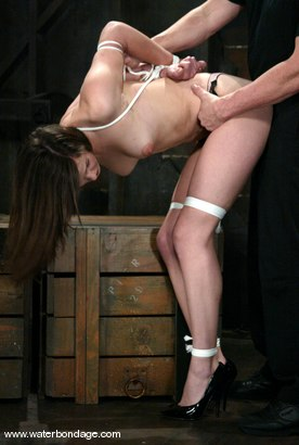 Photo number 2 from Bobbi Starr shot for Water Bondage on Kink.com. Featuring Bobbi Starr in hardcore BDSM & Fetish porn.