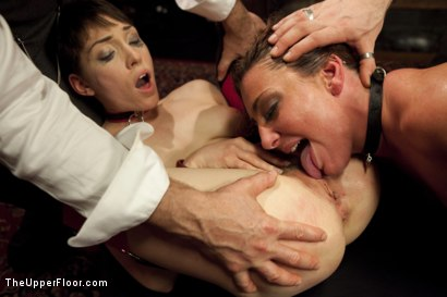 Photo number 8 from Anal Threesome Discipline on the Upper Floor shot for The Upper Floor on Kink.com. Featuring Mr. Pete, Lily LaBeau and Savannah Fox in hardcore BDSM & Fetish porn.