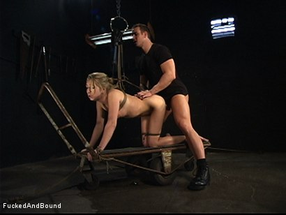 Photo number 13 from Begging Lessons shot for  on Kink.com. Featuring TJ Cummings and Jaelyn Fox in hardcore BDSM & Fetish porn.
