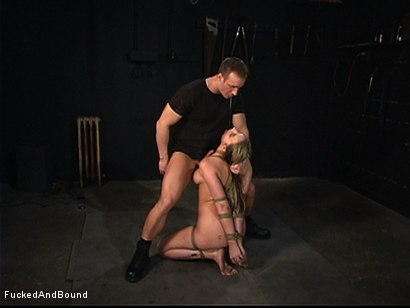 Photo number 11 from Full-Body Service shot for Fucked and Bound on Kink.com. Featuring TJ Cummings and Delilah Strong in hardcore BDSM & Fetish porn.