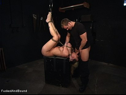 Photo number 7 from Full-Body Service shot for Fucked and Bound on Kink.com. Featuring TJ Cummings and Delilah Strong in hardcore BDSM & Fetish porn.