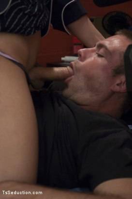 Photo number 12 from Jerking Off in your Room - Are you sure no one is watching? shot for TS Seduction on Kink.com. Featuring John Jammen and Kendra Sinclaire in hardcore BDSM & Fetish porn.