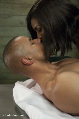 "Photo number 3 from TS Natassia Dream & Robert Axel in The Prelude to ""Super Soldier"" shot for TS Seduction on Kink.com. Featuring Natassia Dreams and Robert Axel in hardcore BDSM & Fetish porn."