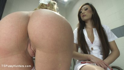 Photo number 3 from TS Venus Makes Darling say Awe with Her Cock in this Medical Role Play shot for TS Pussy Hunters on Kink.com. Featuring Venus Lux and Dee Williams in hardcore BDSM & Fetish porn.