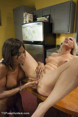 Photo number 8 from MILF MAID: Fucking the Help on the Kitchen Table. shot for TS Pussy Hunters on Kink.com. Featuring Natassia Dreams and Angel Allwood in hardcore BDSM & Fetish porn.