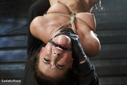 Photo number 15 from Casey Calvert Suffers Through Relentless Torment and Hardcore Bondage shot for Sadistic Rope on Kink.com. Featuring Casey Calvert in hardcore BDSM & Fetish porn.