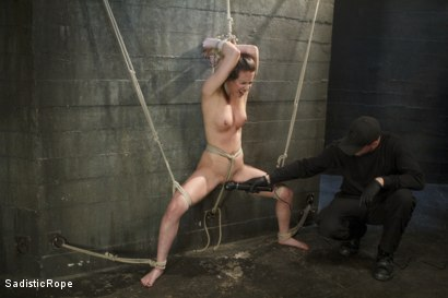 Photo number 3 from Casey Calvert Suffers Through Relentless Torment and Hardcore Bondage shot for Sadistic Rope on Kink.com. Featuring Casey Calvert in hardcore BDSM & Fetish porn.