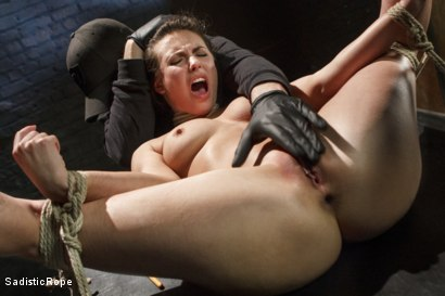 Photo number 7 from Casey Calvert Suffers Through Relentless Torment and Hardcore Bondage shot for Sadistic Rope on Kink.com. Featuring Casey Calvert in hardcore BDSM & Fetish porn.