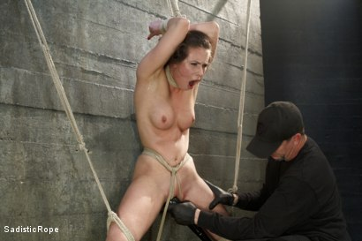 Casey Calvert Suffers Through Relentless Torture and Hardcore Bondage