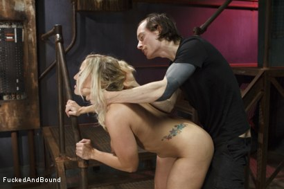 Photo number 12 from Big Tit MILF gets Double Penetrated shot for  on Kink.com. Featuring Owen Gray, Angel Allwood and Christian Wilde in hardcore BDSM & Fetish porn.