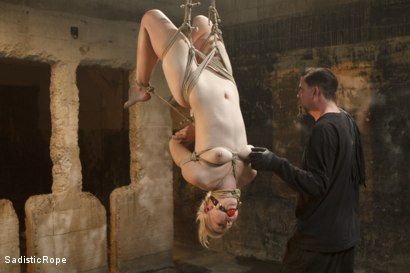 Photo number 15 from 2 Helpless Blonde Whores in Brutal Bondage! shot for Sadistic Rope on Kink.com. Featuring Ella Nova  and Dylan Ryan in hardcore BDSM & Fetish porn.