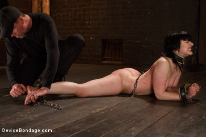 Photo number 2 from Pain Slut is Ruined by Extreme Torment shot for Device Bondage on Kink.com. Featuring Katharine Cane in hardcore BDSM & Fetish porn.