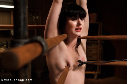 Photo number 4 from Pain Slut is Ruined by Extreme Torment shot for Device Bondage on Kink.com. Featuring Katharine Cane in hardcore BDSM & Fetish porn.