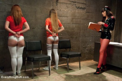 Photo number 2 from Anal Slut Prison Whores shot for Everything Butt on Kink.com. Featuring Dana DeArmond, Claire Robbins and Emma Haize in hardcore BDSM & Fetish porn.