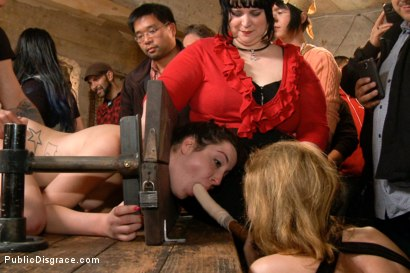 Photo number 6 from Filthy Midwestern cow gets ass pounded in extreme bondage. shot for Public Disgrace on Kink.com. Featuring Mr. Pete and Marley Blaze in hardcore BDSM & Fetish porn.