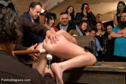 Photo number 8 from Filthy Midwestern cow gets ass pounded in extreme bondage. shot for Public Disgrace on Kink.com. Featuring Mr. Pete and Marley Blaze in hardcore BDSM & Fetish porn.