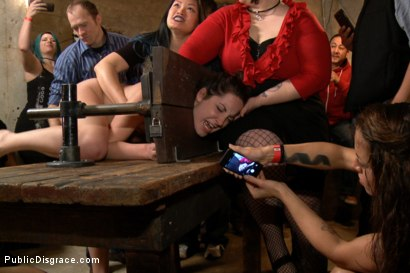 Photo number 12 from Filthy Midwestern cow gets ass pounded in extreme bondage. shot for Public Disgrace on Kink.com. Featuring Mr. Pete and Marley Blaze in hardcore BDSM & Fetish porn.