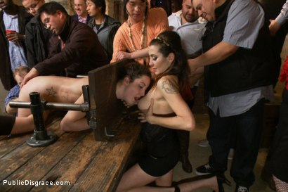 Photo number 14 from Filthy Midwestern cow gets ass pounded in extreme bondage. shot for Public Disgrace on Kink.com. Featuring Mr. Pete and Marley Blaze in hardcore BDSM & Fetish porn.