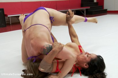 Photo number 6 from Elite Wrestler is Destroyed on the Mats, Utterly Humiliated shot for Ultimate Surrender on Kink.com. Featuring Mistress Kara and Izamar Gutierrez in hardcore BDSM & Fetish porn.