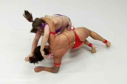 Photo number 7 from Elite Wrestler is Destroyed on the Mats, Utterly Humiliated shot for Ultimate Surrender on Kink.com. Featuring Mistress Kara and Izamar Gutierrez in hardcore BDSM & Fetish porn.